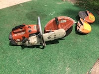 TS400 sthil chop saw Runs Great  Delmar, 21875