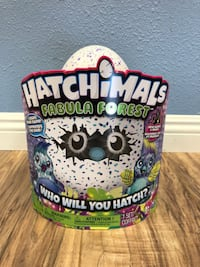 Hatchimals Fabula Forest Puffatoo - Hatching Egg with interactive creature WASHINGTON