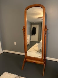 Kincaid 100% Solid Wood Cheval Mirror Strasburg, 22657