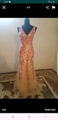 Beautiful Evening/Prom Mermaid Dress Asking for $135  Louisville, 40218