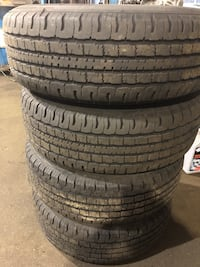 TIRES AND RIMS USED ONE YEAR FROM MITSUBISHI MONTERO Mississauga, L5C 1T7