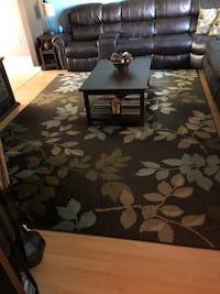10 foot 8 inches by 7 foot 8 inches like new area rug. Cliffwood, 07721