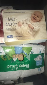 two disposable diaper packs Fort Washington, 20744