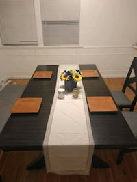Brand new Rustic style dinning room table.  Los Angeles County, 90008