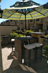 Outdoor Bar Height table and stools Oakville, L6K