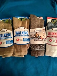 THORLOS Unisex socks...size large...4 pair