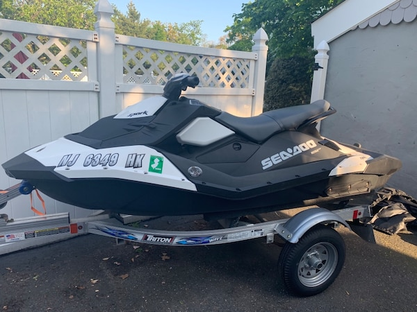 2017 Sea-Doo Spark 3UP 900 HO ACE iBR and Convenience Package Plus with  Trailer