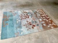 Blue and brown area rug (5' x 7.5') Fort Mill, 29707