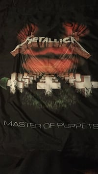 Metallica Master of Puppets banner Colwood, V9C 1L3