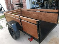brown and black utility trailer Edinburg, 78539