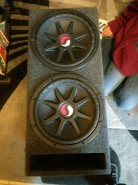 """2 12"""" Solo-Baric SC Subwoofers & Ported ???? Commerce City, 80022"""