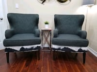 Wingback Accent Chairs Ajax, L1Z 1J4