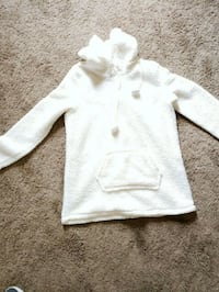 white button-up hoodie Union, 63084