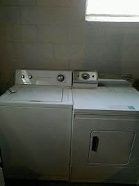 Washer and dryer  (Negotiable) Campbell, 44405