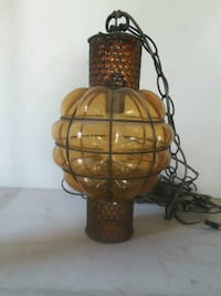 60's hanging lamp great condition Naperville, 60563