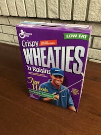 Tiger Woods collectable Wheaties box Brantford, N3S 7M9