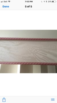 Selling for a friend  Verticals with valance 133 x55