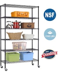 Shelving Unit 6-tier