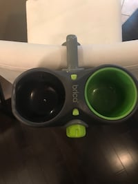 Brico car seat water and snack holder
