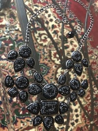 Black and white flower necklace  Alexandria, 22311