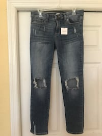 New sneak peek jeans size 8 Naples, 34110