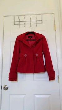 Jack by BB Dakota, red pea coat, size xs San Jose, 95136