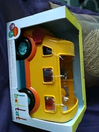 Brand new bus toy toddlers by battat