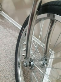 Custom made chrome bmx Edmonton