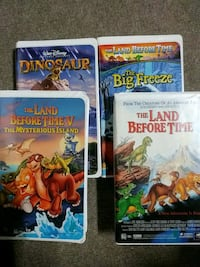 Land before time and dinosaur vhs Baltimore