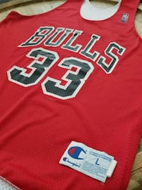 VINTAGE -Rare Chicago Bulls Pippen Practice Jersey