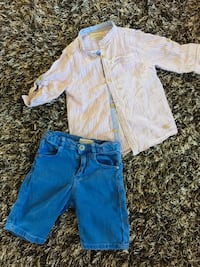 Summer size 5 boys outfit from Zara Calgary, T3K 6J7
