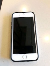 silver iPhone 6 with black case+earbuds Baltimore, 21230