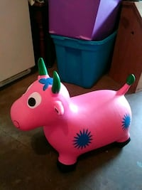 Pink cow bouncy York, 17406