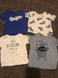 Baby boy shirts 6-9 months Los Angeles, 90031