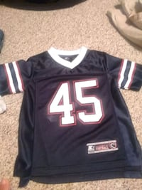 Size 6/7 football jersey Mobile