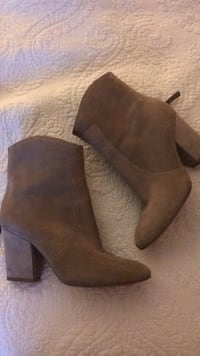 Women's 7.5 BRAND NEW NINE WEST HEELED BOOTIES Mississauga, L5A 2S1
