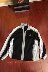Black white jordan jacket