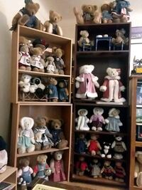 Large collection stuffed bears  Cedar Rapids