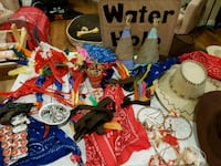 Cowboys and Indian themed party  items  Breslau, N0B 1M0