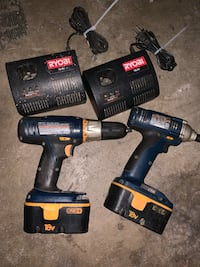 black and blue Makita cordless power drill Elk Grove, 95757