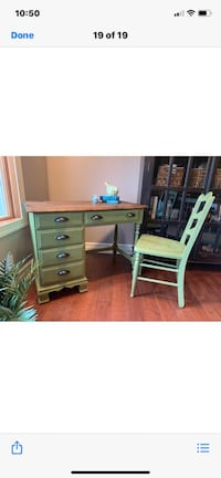 Refurbished vintage desk