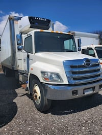 2012 Hino 358 Reefer Truck With Sleeper 28ft box