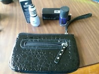 Black clutch bag 2 never used nail polish$9.00 OBO