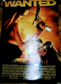Wanted Theater Poster 27x40 Orangevale, 95662