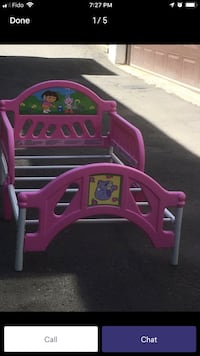 Dora Toddlers bed