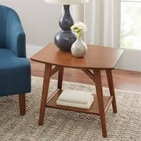 Better Homes & Gardens Reed Mid Century Modern Side Table, Pecan (New in Box) Fort Wayne