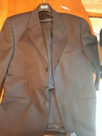 Black pin stripped suit Montreal, H8S 4L6