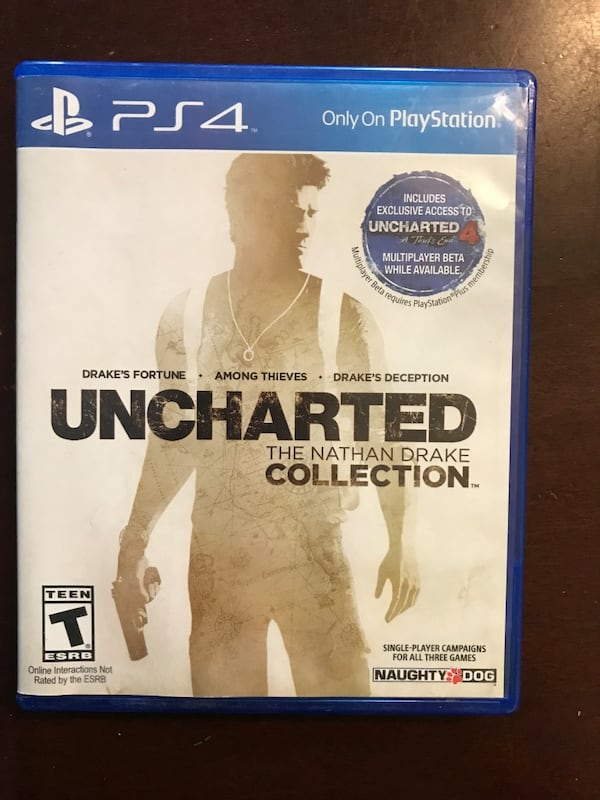 Used Uncharted Nathan Drake Collection For Sale In Milwaukie Letgo