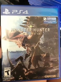 PS4 monster hunter  El Paso, 79924