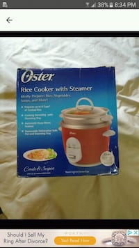 Rice cooker with Steamer new in box Kenner, 70062